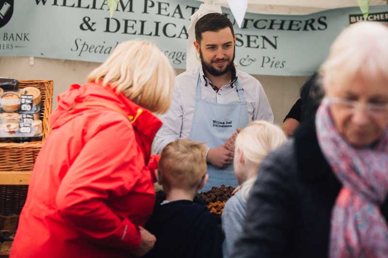 Bishop Auckland Food Festival Street Food -Butcher Vendor