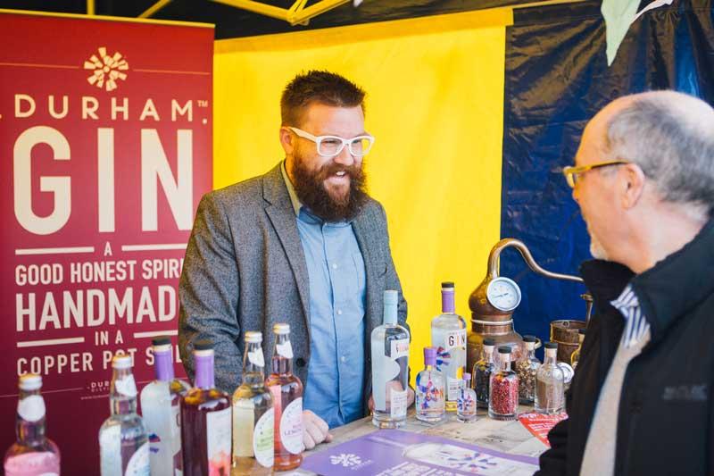 Bishop Auckland Food Festival Street Food - Durham Gin
