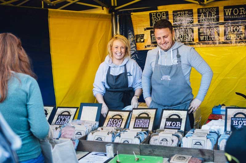 Bishop Auckland Food Festival Street Food - Hog Roast