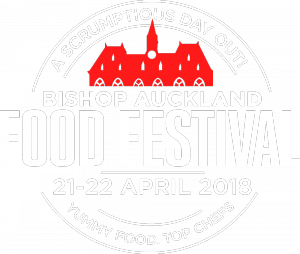 The Bishop Auckland Food Festival 2018 Logo