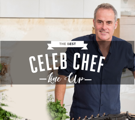 The Best Celeb Chef Line Up