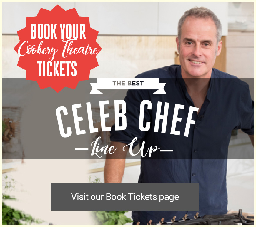 The Bishop Auckland Food Festival - Phil Vickery Celebrity TV Chef