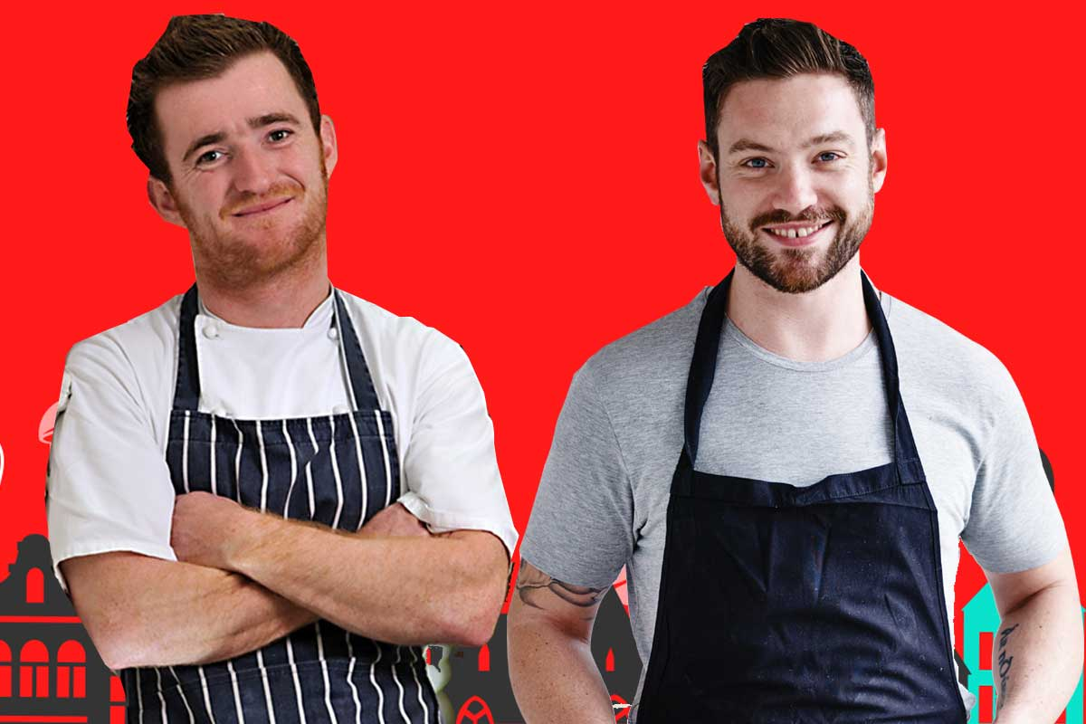 Britain's finest chefs come to the North East - Jack Stein and Dan Doherty