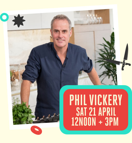 The Bishop Auckland Food Festival - Book Tickets to see Phil Vickery Celebrity TV Chef