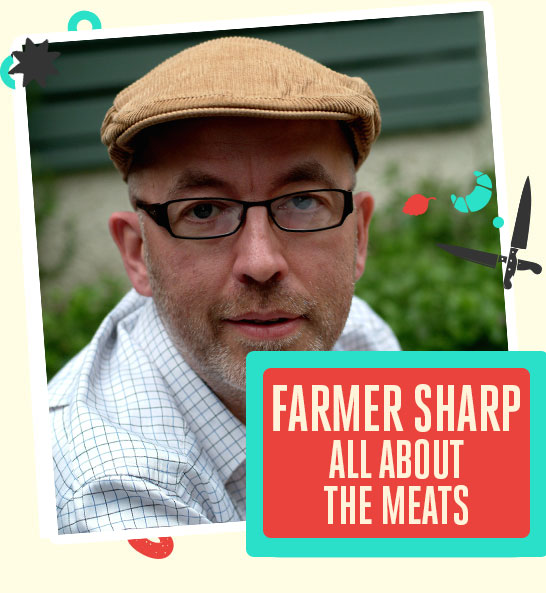 Bishop Auckland Food Festival - The School of Artisan, Farmer Sharp School of Artisan