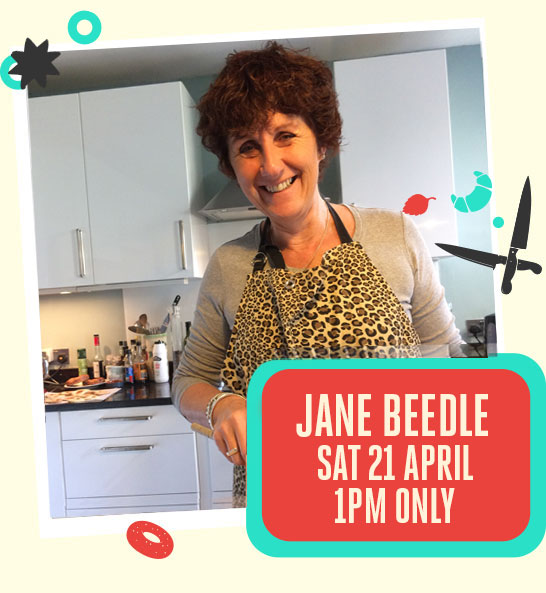 Jane Beedle Cookery Theatre - The Bishop Auckland Food Festival 2018