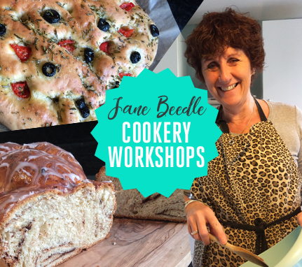 Jane Beedle Cookery Workshops - The Bishop Auckland Food Festival 2018