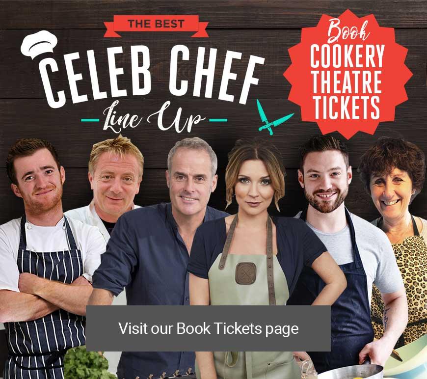 Celeb Chef Line Up at Bishop Auckland Food Festival
