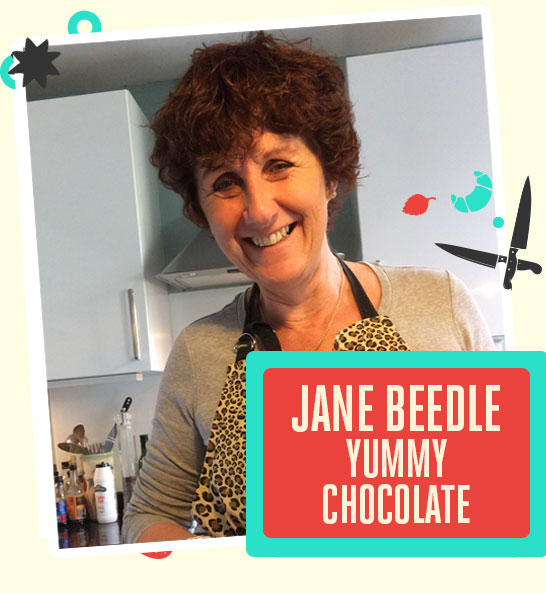 Fun for the Kids ! Jane Beedle Chocolate Bread Making Session - The Bishop Auckland Food Festival 2018