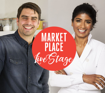 Whats On - Celebrity Chefs Market Place Live Stage