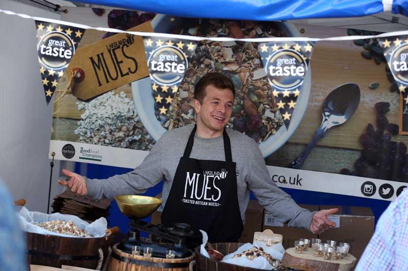 Lakeland Mues at Bishop Auckland Food Festival