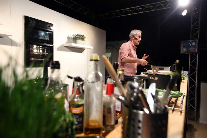 Bishop Auckland Food Festival - Phil Vickery Cookery Theatre