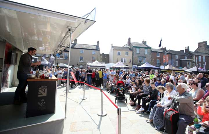 NEW DATES ANNOUNCED: Bishop Auckland Food Festival 2019 - 13-14 April 2019