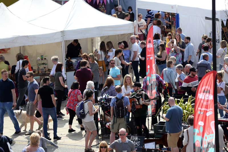 Bishop Auckland Food Festival 2018 - Crowds