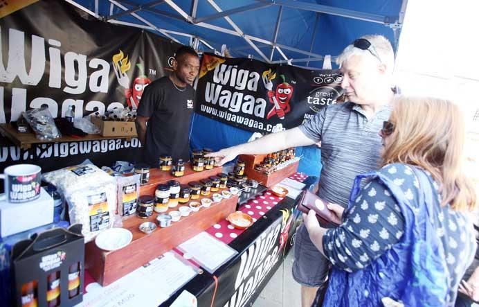 Wigga Wagaa at Bishop Auckland Food Festival