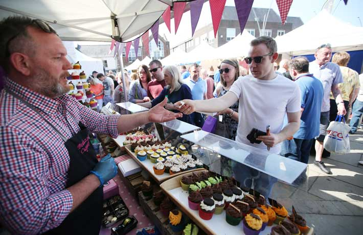 Yummy Cakes at Bishop Auckland Food Festival