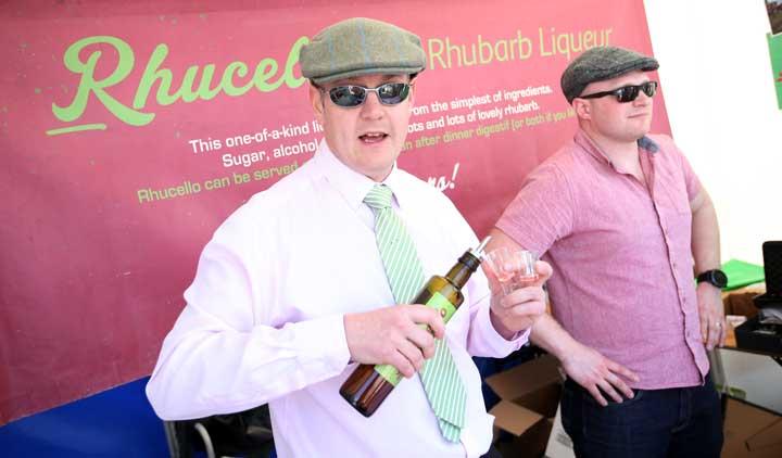 Rhubarb Liquor at Bishop Auckland Food Festival