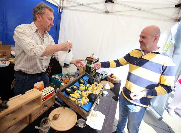 Garlic Farm at Bishop Auckland Food Festival