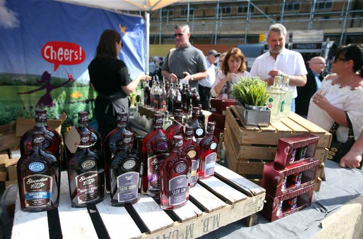 Street Food at Bishop Auckland Food Festival