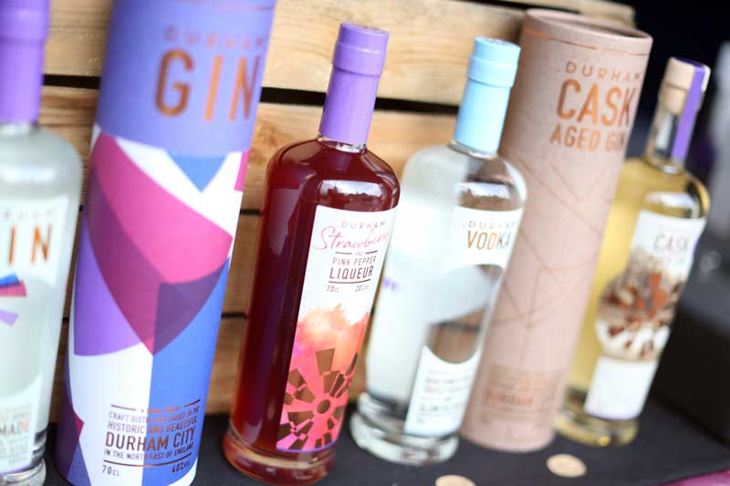 Gin at Bishop Auckland Food Festival