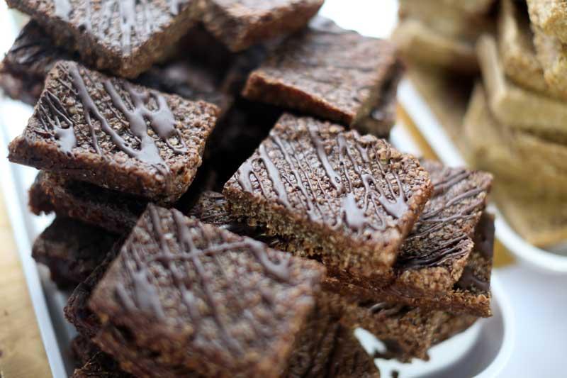 Brownies at Bishop Auckland Food Festival
