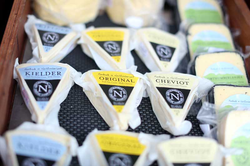 Cheese at Bishop Auckland Food Festival