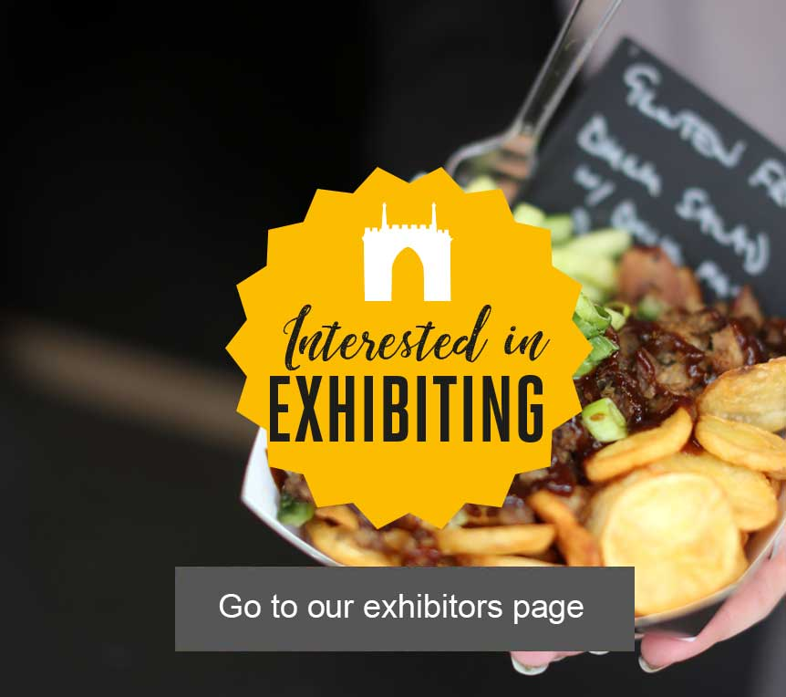 Interested in exhibiting at The Bishop Auckland Food Festival