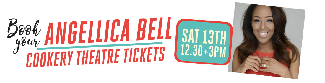 Angellica Bell, Bishop Auckland Food Festival, Cookery Theatre Tickets