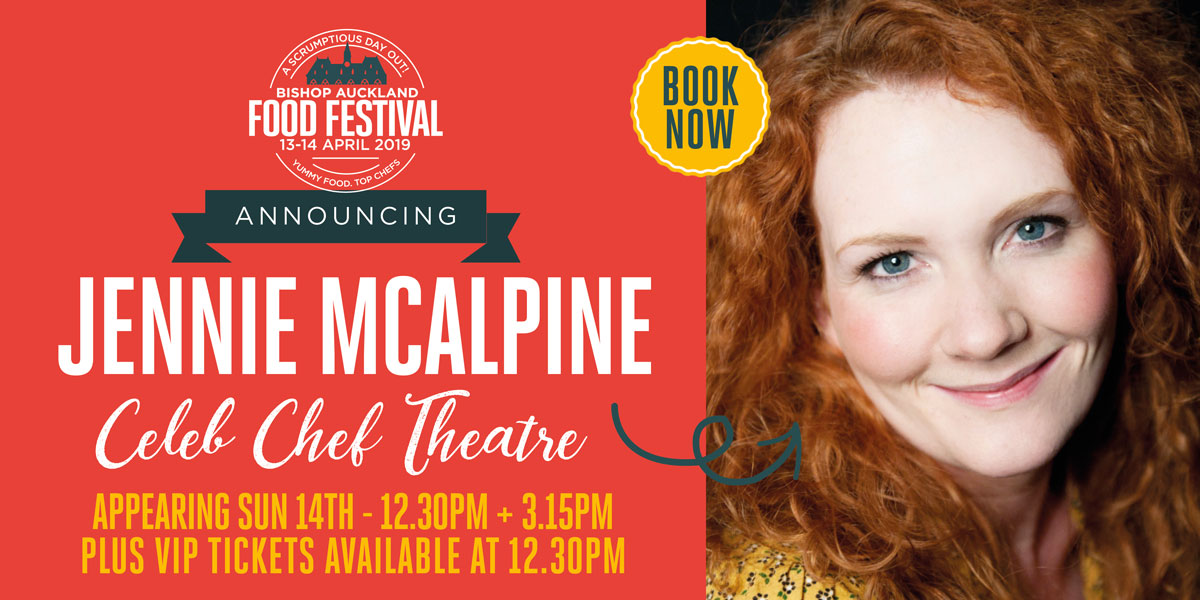 Jennie Mcalpine Celeb Chef Theatre
