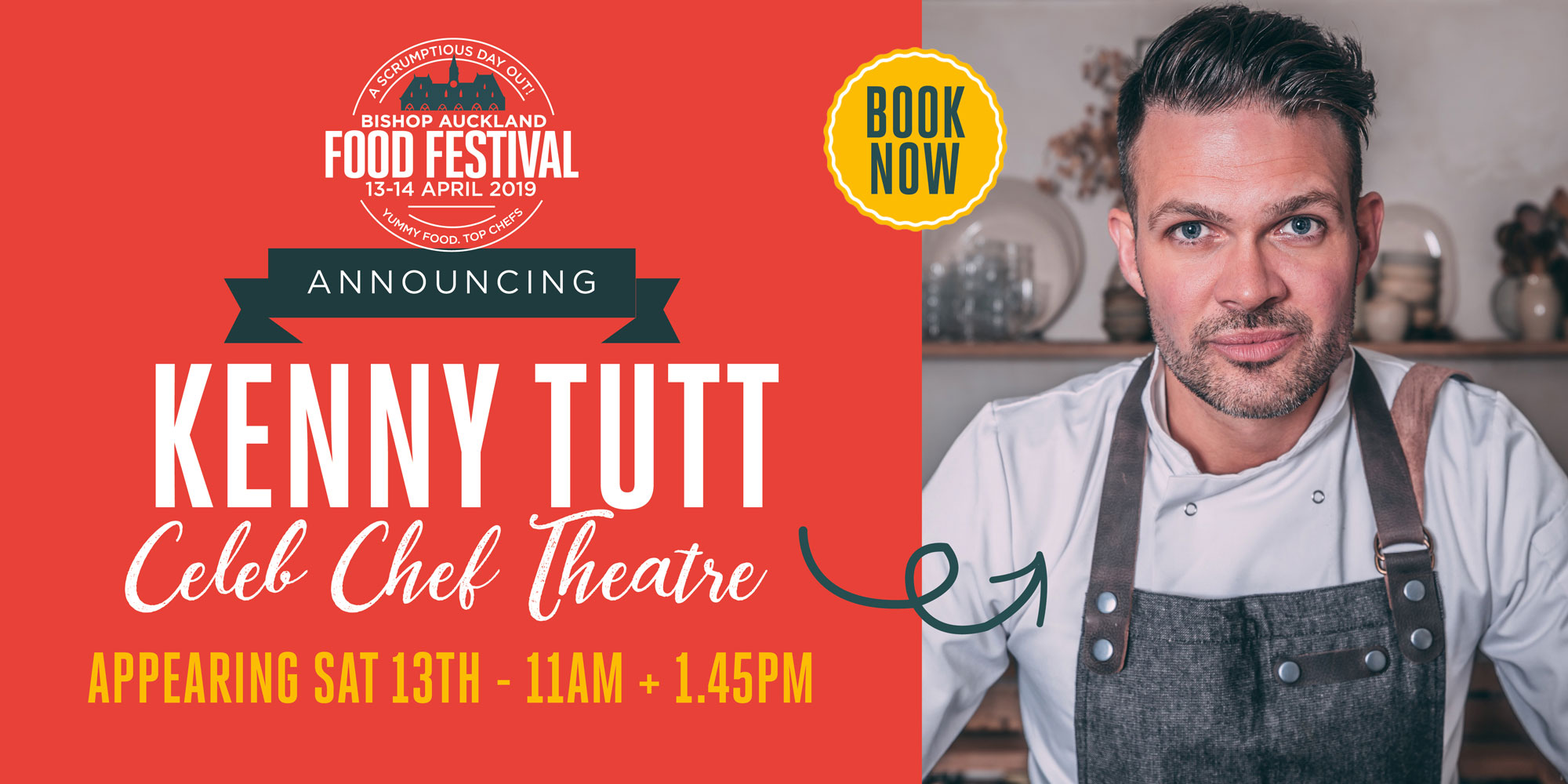 Kenny Tutt Celeb Chef Theatre