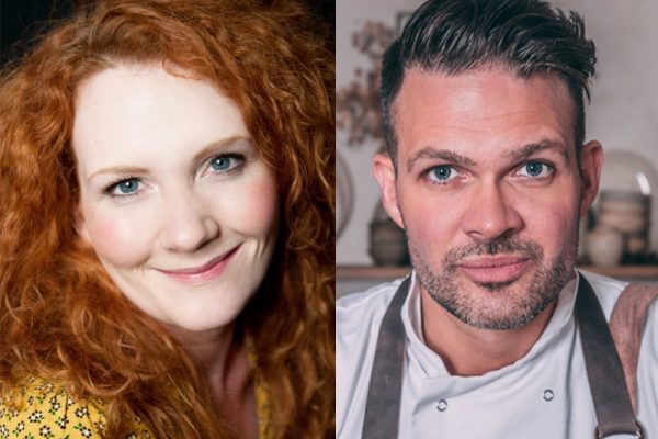 Kenny Tutt and Jennie McAlpine - Celeb Chef Cookery Theatre