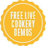 Free Live Cookery Demos at The Bishop Auckland Food Festival