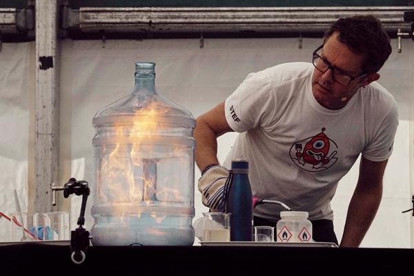 Stefan Gates Bishop Auckland Food Festival