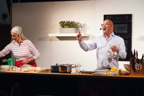 Gregg Wallace at The Bishop Auckland Food Festival
