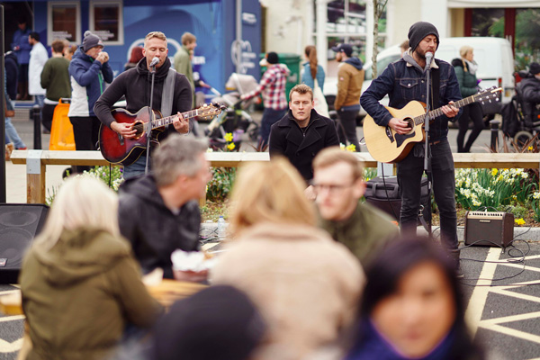 Live Music at Bishop Auckland Food Festival
